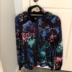 Multi-colored Lululemon jacket.